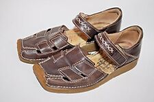 Camel Active Fashion Designer Ladies Woman's Sandals Shoes Brown Leather 3,5 UK