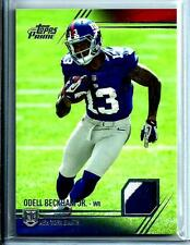 2014 Topps Prime Odell Beckham Jr. *Rookie* 2/Color Relic Jersey New York Giants