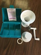 Happy Baby Food Mill Grinder With Blue Carrying Case