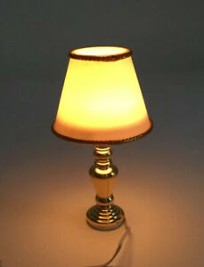 Dolls House Light Up Table Lamp
