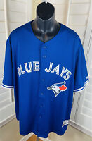 Majestic Cool Base Toronto Blue Jays MLB Baseball Jersey - Blank Back, Mens 2XL