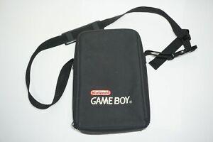 Original Nintendo Gray Game Boy Carry Travel Case Strap Bag (no insert)