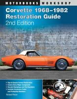 Corvette 1968-1982 Restoration Guide Codes Numbers C3