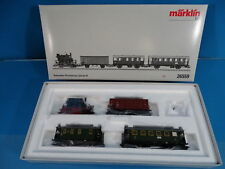 "Marklin 26559 DB Train Set ""Branch Line Passenger Train"" Digital MFX"