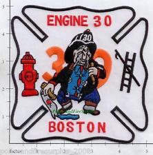 Massachusetts - Boston Engine 30 MA Fire Dept Patch