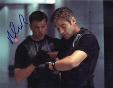 Matt Damon and George Clooney Autographed 8x10 Photo signed Picture + COA