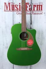 Fender® Redondo Player Acoustic Electric Guitar California Series Electric Jade