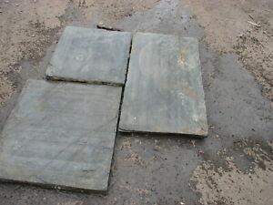 Welsh slate flooring , slate flagstones , reclaimed slate slabs