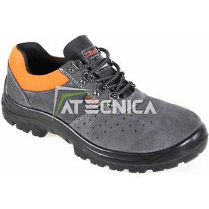 Schuhe Prävention & beta 7246E S1P Leder Perforiert mit Kabelschuh Und Folie