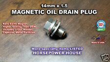 14mm MAGNETIC SUMP DRAIN PLUG for TRIUMPH SPRINT RS ST THRUXTON TIGER BONNIE ++