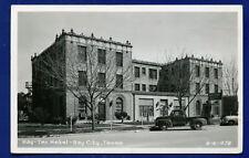 Bay City Texas Bay Tex Hotel tx real photo postcard RPPC