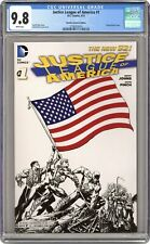 Justice League of America #1 Finch B&W Promotional Variant CGC 9.8 2013