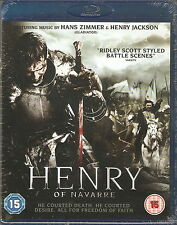 HENRY OF NAVARRE - Music by Hans Zimmer & Henry Jackson (NEW/SEALED Blu-ray '11)