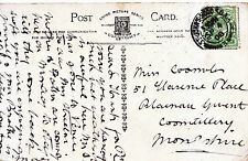 Genealogy Postcard - Family History - Coombes - Cwmtillery - Monmouthshire 420A