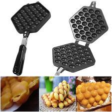 Egg Waffle Cake Pan Iron Pan Baking Bubble Mold Food Plate Nonstick
