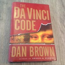 The Da Vinci Code by Dan Brown 1st Edition/1st Printing (2003, Hardcover)
