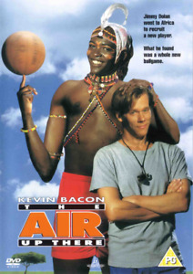 The Air Up There (Disney Kevin Bacon) New DVD Region 4