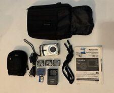 Panasonic Lumix DMC-TZ3 Digital Camera Silver w/ Accessories