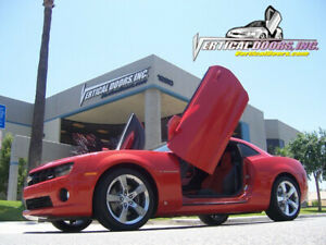 Direct Bolt On Vertical Lambo Doors Hinges Kit With Warranty VDCCHEVYCAM10