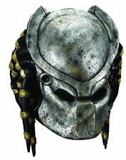 Predator Deluxe Costume Halloween Scary Mask Removable Faceplate Adult One Size  sc 1 st  eBay & Predator Costume Masks | eBay