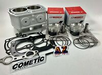 Polaris RZR 800 RZR800 82mm Big Bore Wiseco Pistons Cylinder Top Cometic Gaskets