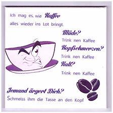 Bild Dekofliese Geburtstag Danke Mitbringsel Geschenkidee Kaffeespruch (022DP)