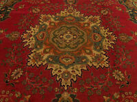 9.9 x 13 Vintage Handmade High Quality Antique Kurdish Anatolian Wool Pile Rug