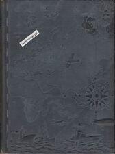 1942 U.S. NAVY MIDSHIPMEN'S SCHOOL YEARBOOK, SIDE BOY, WWII, NEW YORK, NY