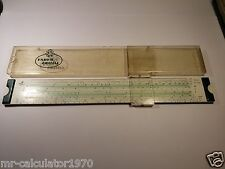 A.W FABER CASTELL SLIDE RULE  52/82  MADE IN GERMANY