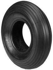 Carlisle Wheelbarrow, Lawn Cart Tire 480-8 NHS LR-A 2 Ply Straight Rib (OF-1)