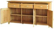 Oak Sideboards, Buffets & Trolleys with 3 Drawers