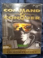 Command & Conquer PC Game - Big Box Westwood Studios CD-ROM NEW 1995