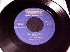 JOSE PAFUMY~Tico Tico/La Cumparsita RARE 1951 LATIN 45 original on RAINBOW HEAR