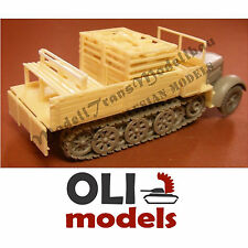 1/72 Sd.Kfz.7 Late cargo w/Ammo Boxes Conversion for Revell - Modell Trans 72385