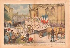 Fête du Blé Eucharistique Normandie Délivrance Calvados France 1937 ILLUSTRATION