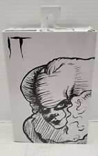 """NECA SDCC 2019 Pennywise IT Etched 2017 7"""" Inch Black and White"""