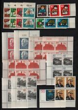 Germany 1965 - 1990 MNH Collection, Mostly Berlin, Sets, Part Sets CV $103.90