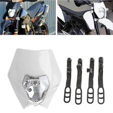 Motocross Bike Motorcycle Universal Headlight BA20D Bulb For KTM SMR Headlamp