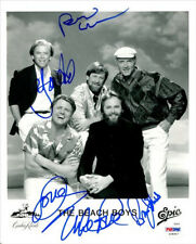 BEACH BOYS GROUP BAND SIGNED PHOTO 8X10 RP AUTOGRAPHED MIKE LOVE BRIAN WILSON +