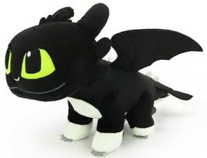 OFFICIAL LICENSED How to Train Your Dragon 3 Night Light Boy Plush Soft Doll 8""