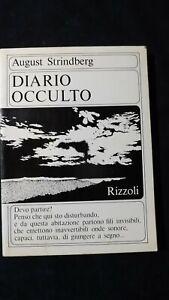 August Strindberg: Diario occulto. Rizzoli, 1966