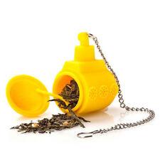 YELLOW SUBMARINE a forma di Funny in silicone tè infusore Diffusore Filtro COLINO PER FOGLIE