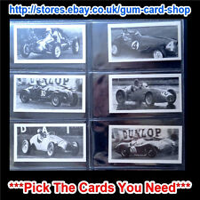 In Official Album Motor Cars/Bikes Collectable Trade Cards