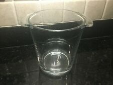 ARC France Glass Ice Cube Bucket Wine Champagne Bottle Chiller Cooler New