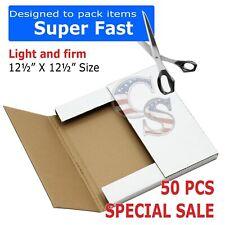 50 Lp Premium Record Album Mailers Book Box Variable Depth Laser Disc Mailers