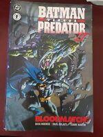 BATMAN versus PREDATOR II BLOODMATCH TPB COLLECTION 1995 1ST PRINT DC/DARK HORSE