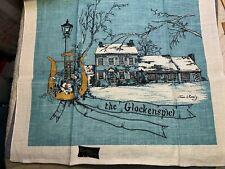 Vintage Linen Nice Kitchen KayDee Towel Fabric Glockenspiel Joan Romig Unused