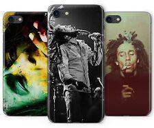 Bob Marley Raggie Musique Rasta Caoutchouc Coque En Plastique De Téléphone