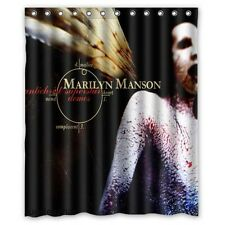 New Fabric Bath Curtain Marilyn Manson Custom Shower Curtain 60x72 Inch