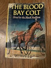1950 HB Book THE BLOOD BAY COLT by WALTER FARLEY; NICE DUST JACKET